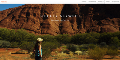 Shirley Seywert - Développeur Web Front End - webdeveloper